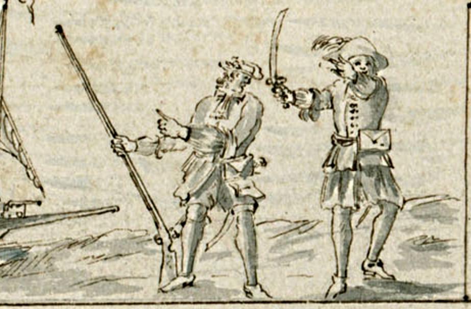 Flibustiers 1688 Petit Goave Cornuau