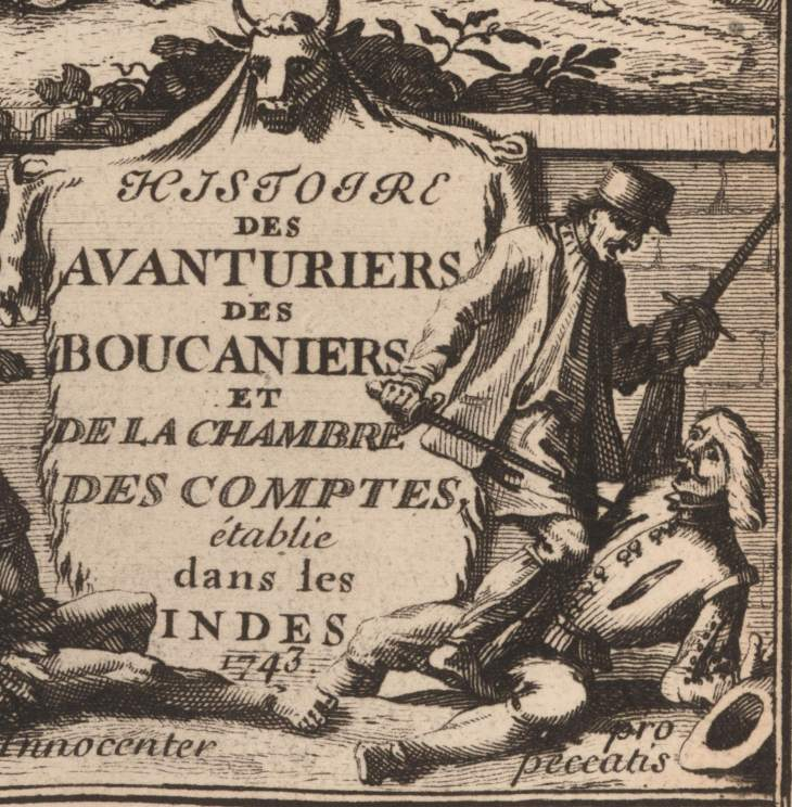 Detail French 1744