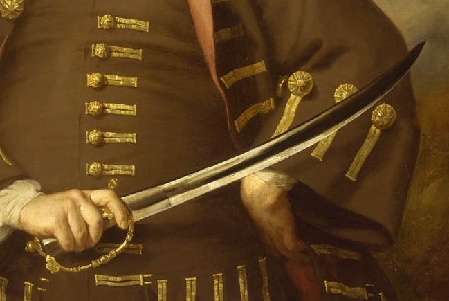 Sir Thomas Hoppsonn circa 1703 to 1705