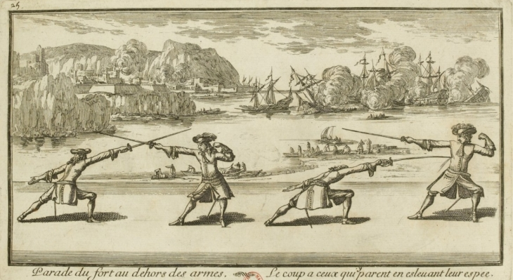 French Fencing 1685