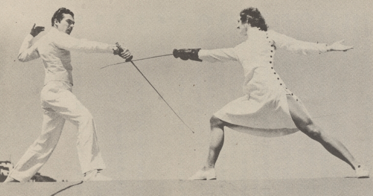 Woman Fencer 1