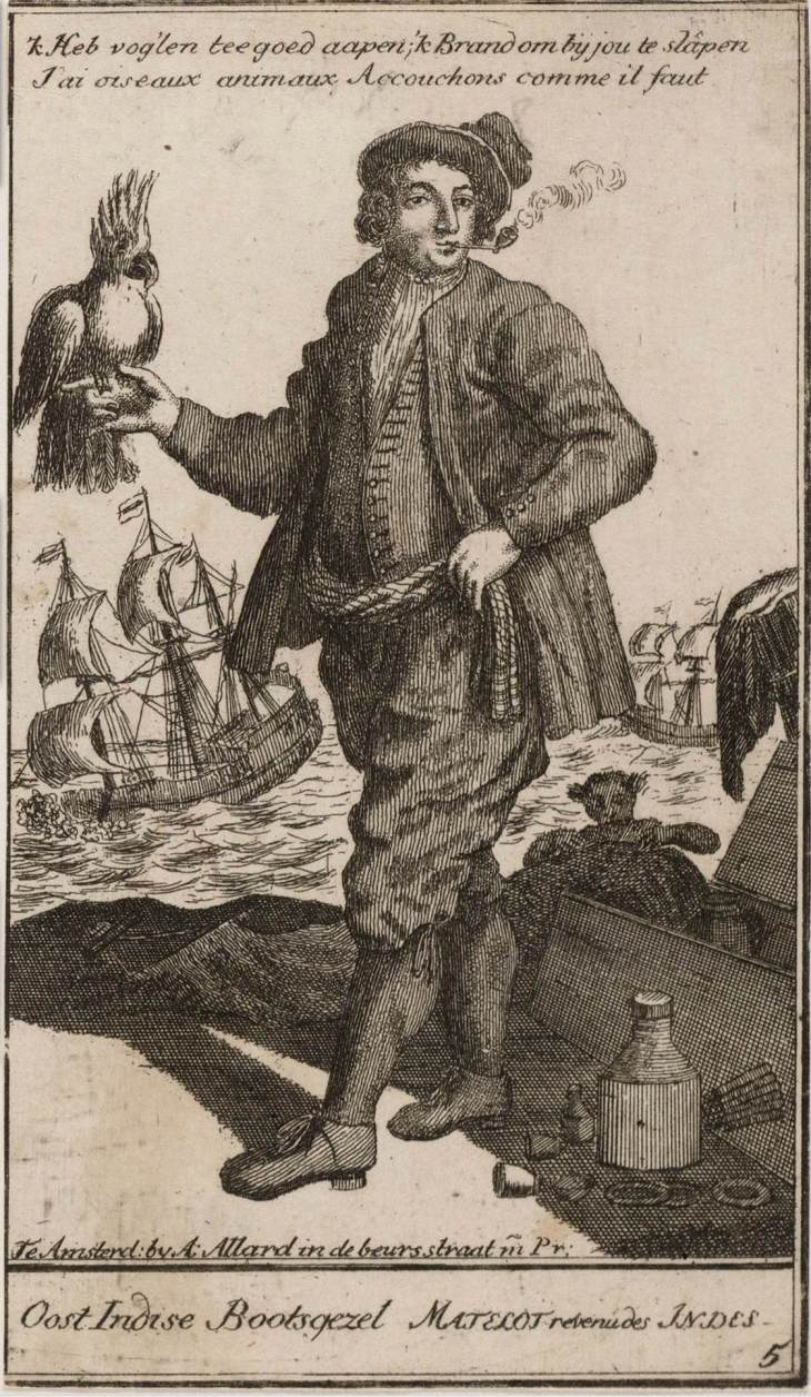Dutch Seaman Allard 1675 to 1725