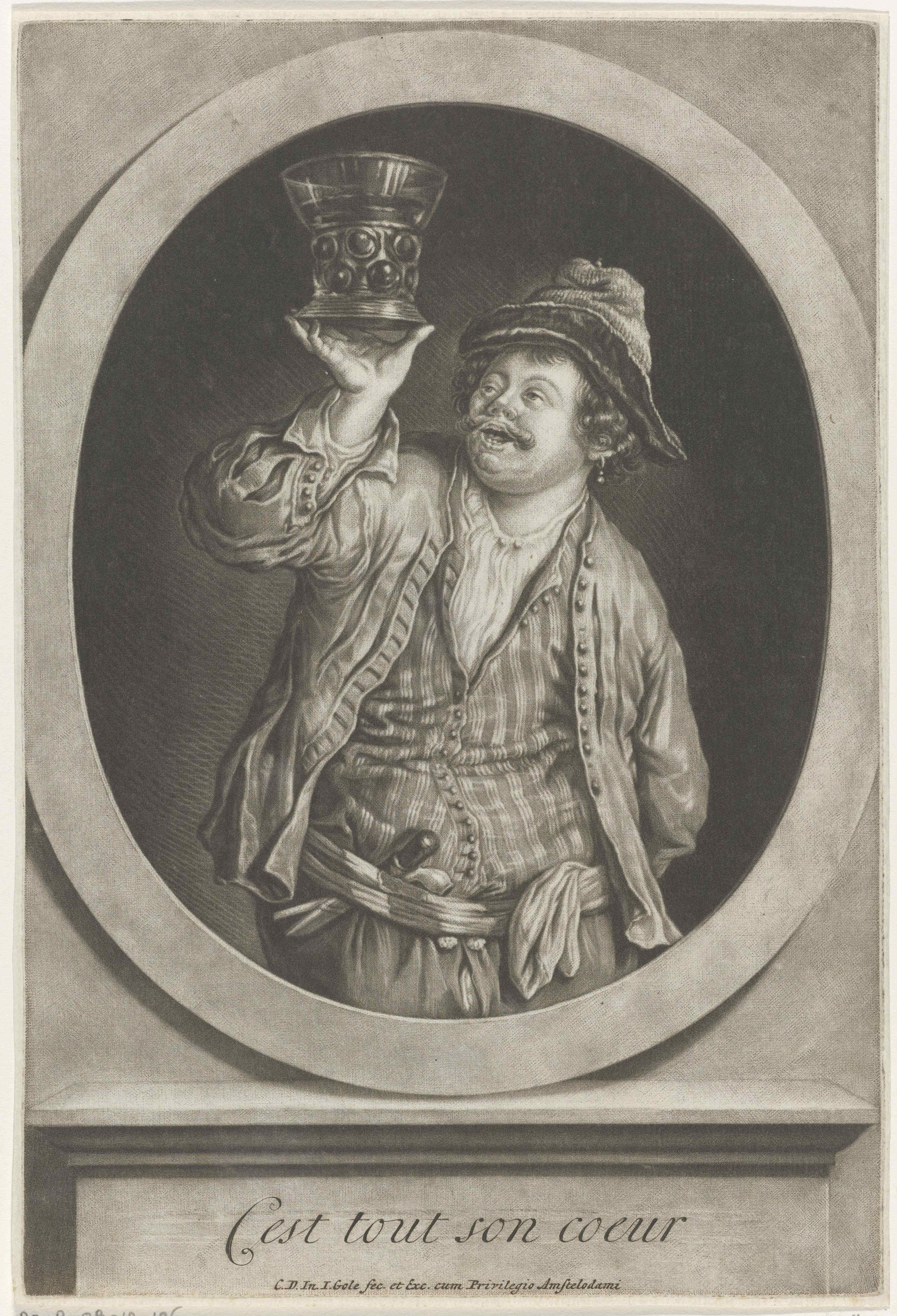 Dutch Seaman with Rummer