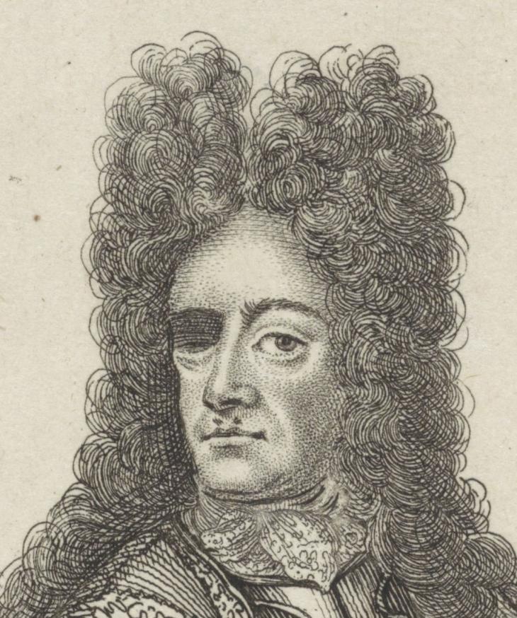 Portret van Johann Karl von Thüngen, anonymous, 1675 to 1711