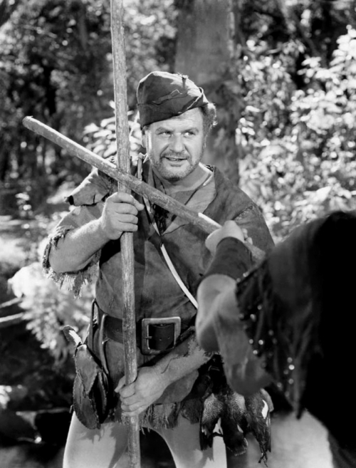 Alan Hale in Robin Hood