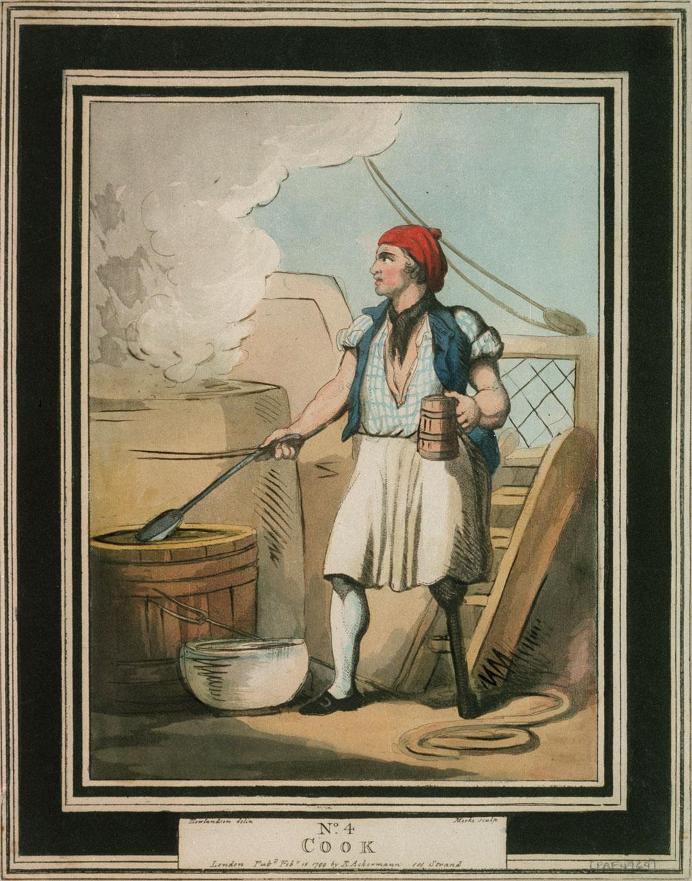 Cook Thomas Rowlandson 1799 NMM