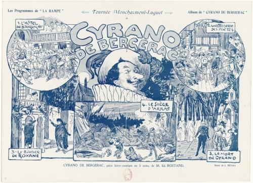 Cyrano de Bergerac Program 1898