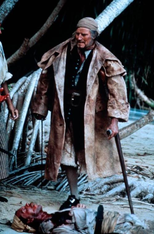 Heston in Treasure Island