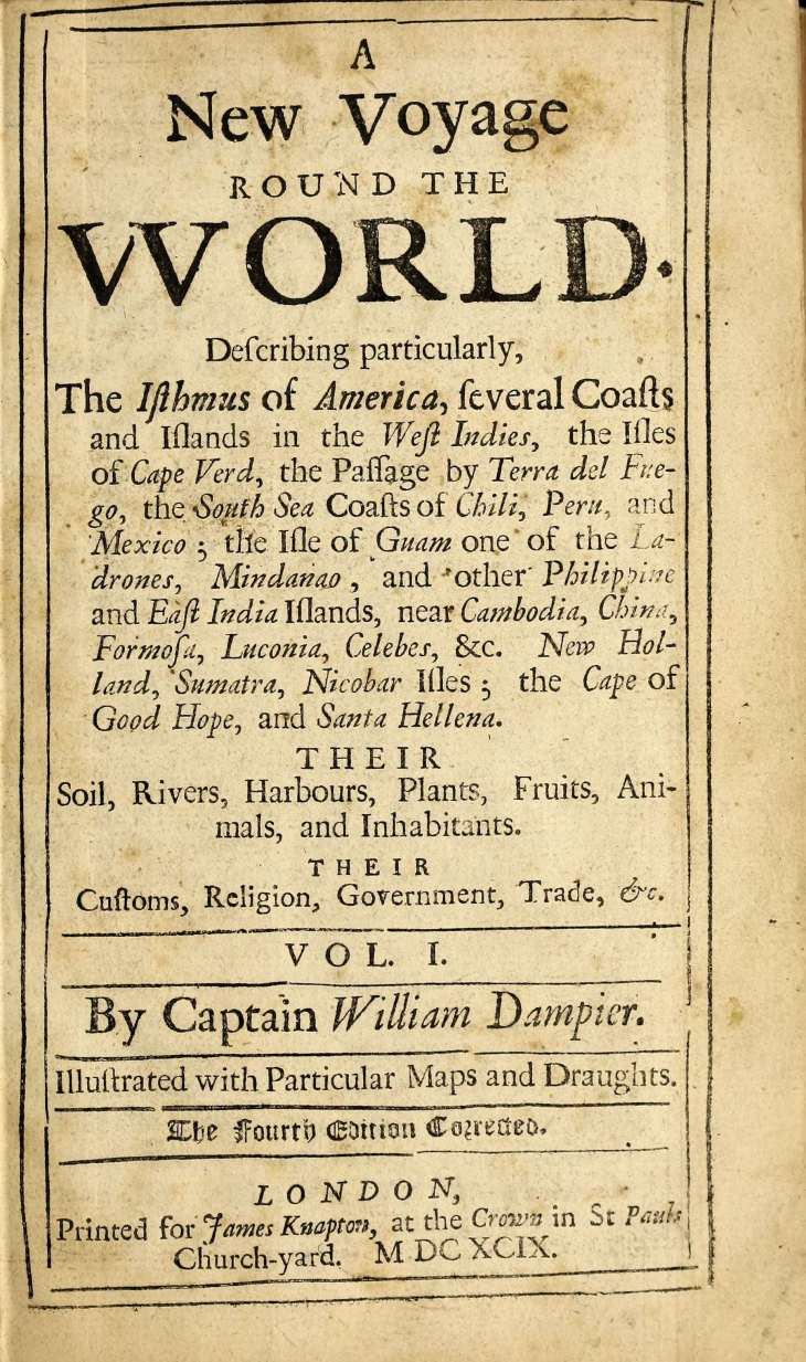 Dampier Title Page
