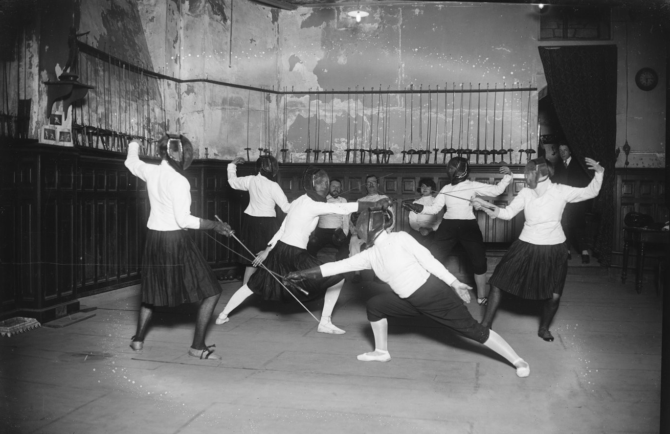 French salle 1925