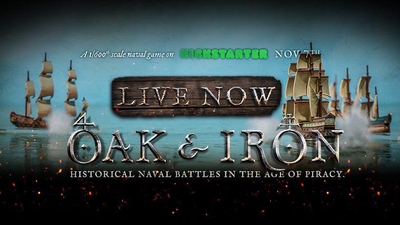 Oak & Iron Kickstarter