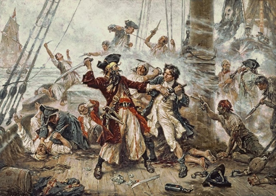 Capture-of-Blackbeard