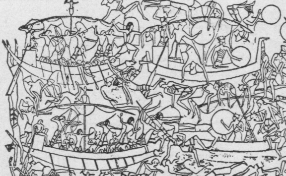Egyptian Sea Battle small