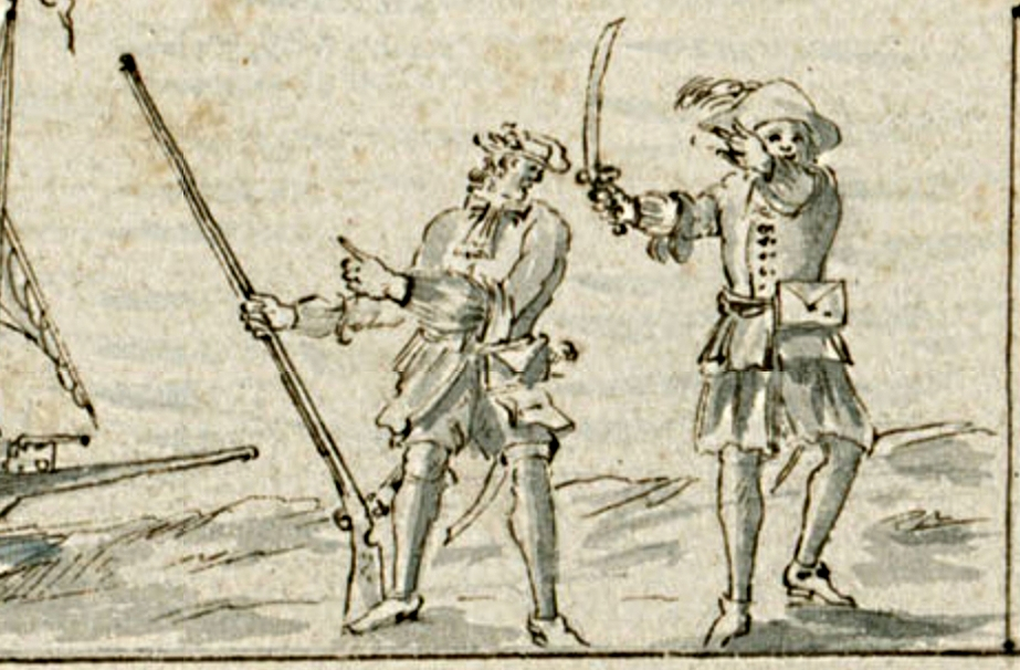 Flibustiers 1688 Petit Goave Cornuau sharpened
