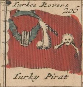 Turkish or Ottoman Rover circa 1707