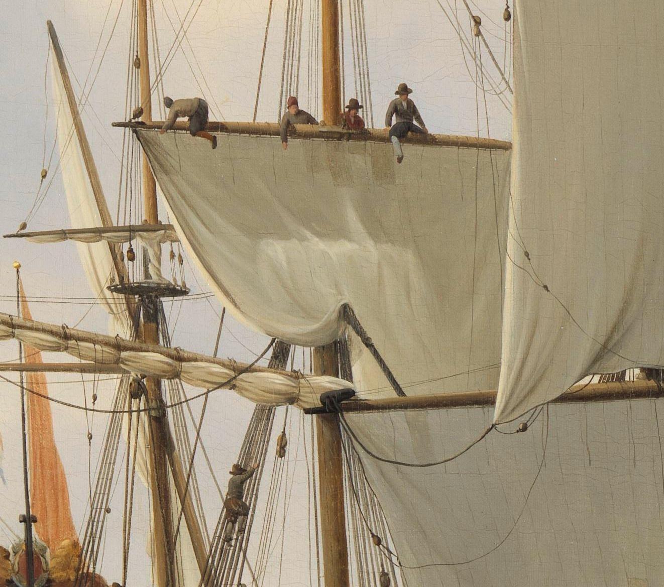 Dutch Seamen Aloft