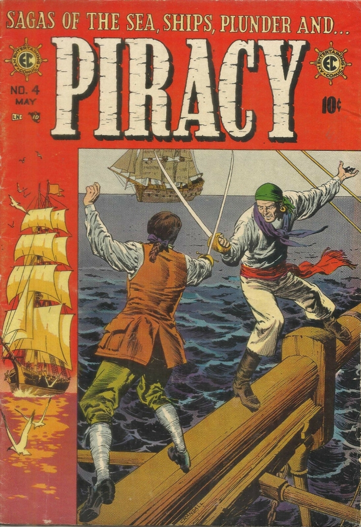 Piracy EC Comics