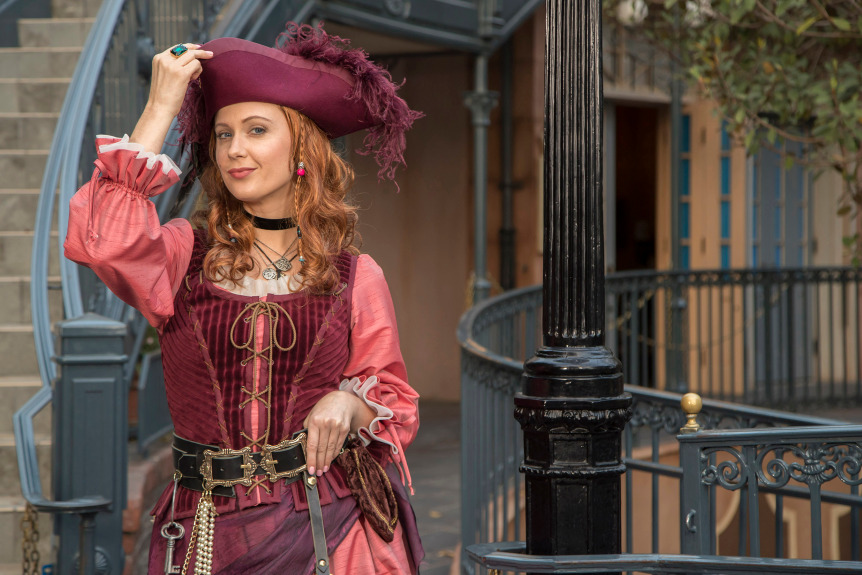 The Women in Red: The Evolution of a Pirate Trope