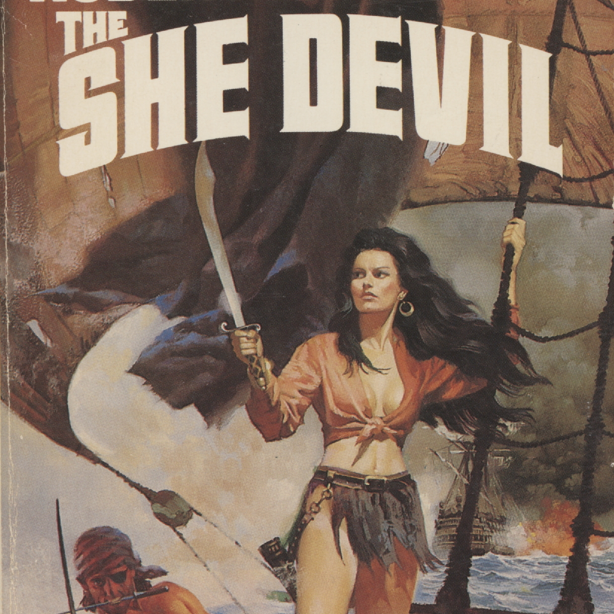 Pirate Pulp Fiction Paperback Cover Art!