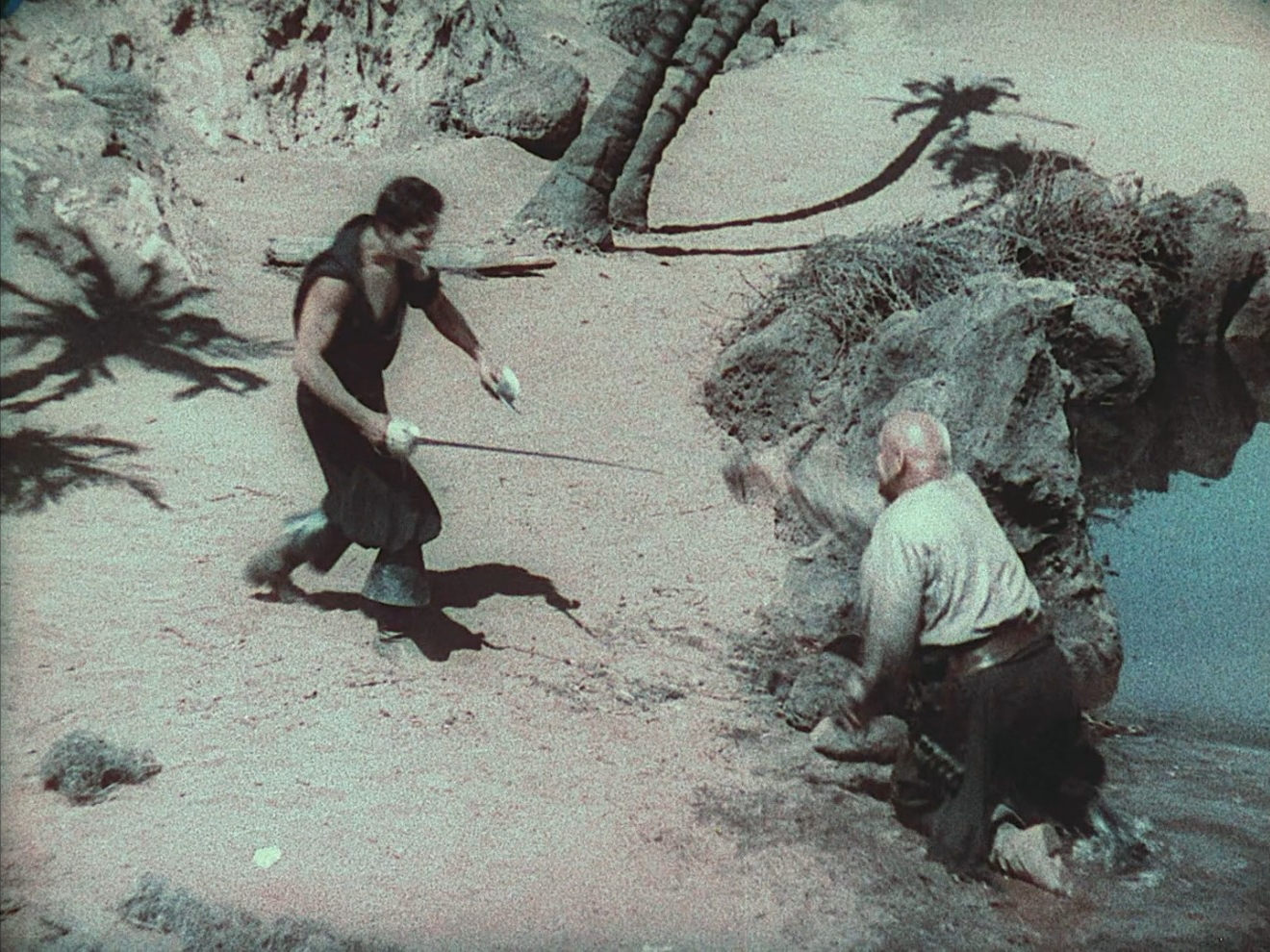 The Duel on the Beach, Part III: In Film!